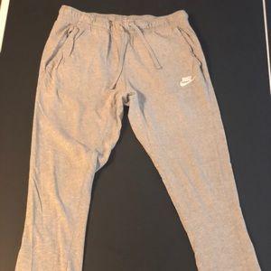 Gray Nike Joggers slim fit